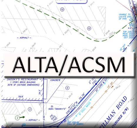 Find out about our ALTA/ACSM Land Title Surveys...