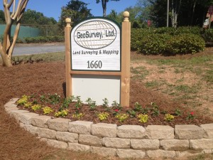 GeoSurvey Company Sign