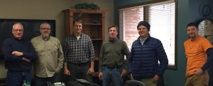 (L-R)Trent Turk, Dale Gletty (Horizon Safety), Jon Moeller, Brad Cash, Robert English, and Jeff Thompson