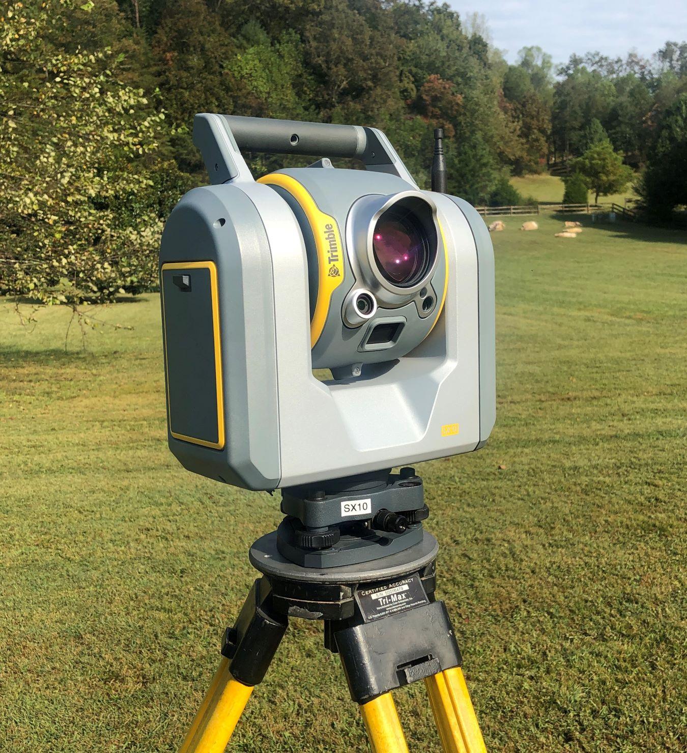 Trimble SX10 Laser Scanning Total Station